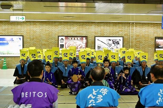 博多駅地下鉄改札口前