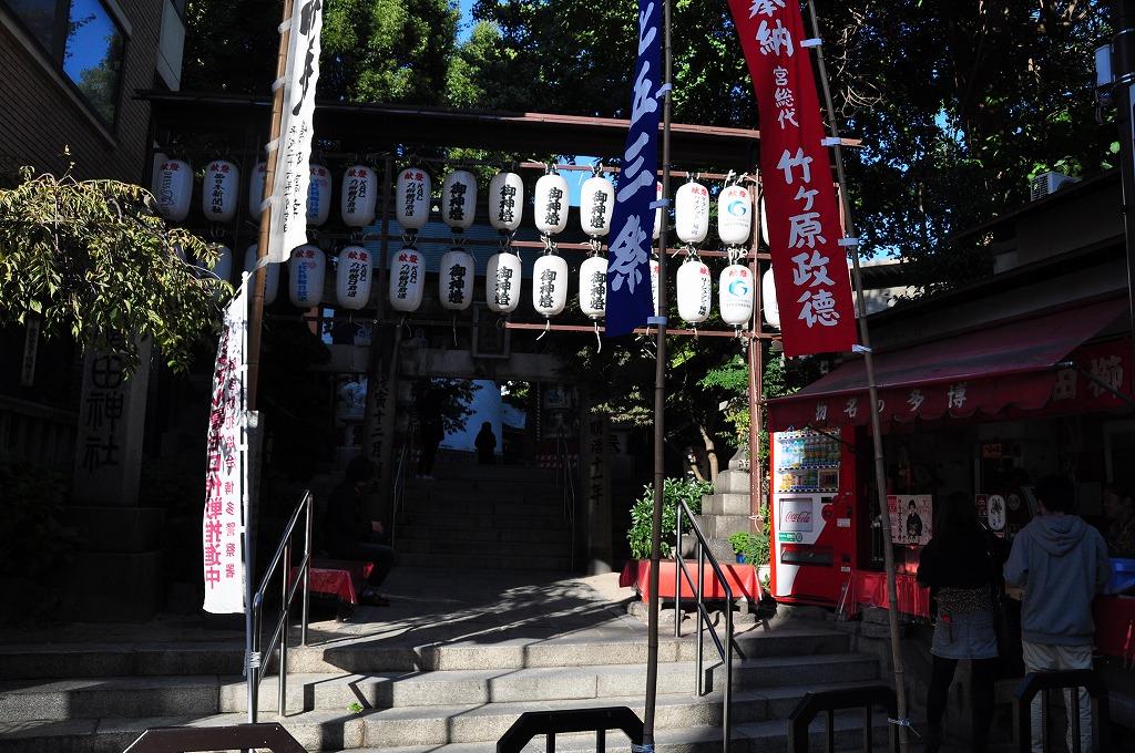 櫛田神社の南神門