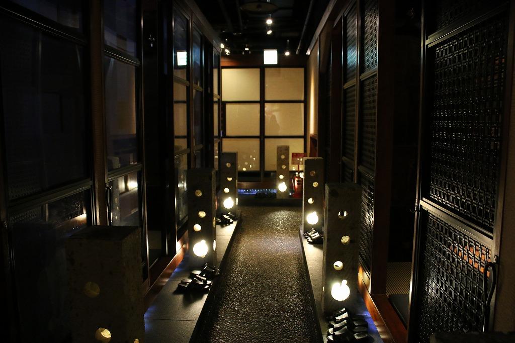 隠れ家的空間と個室