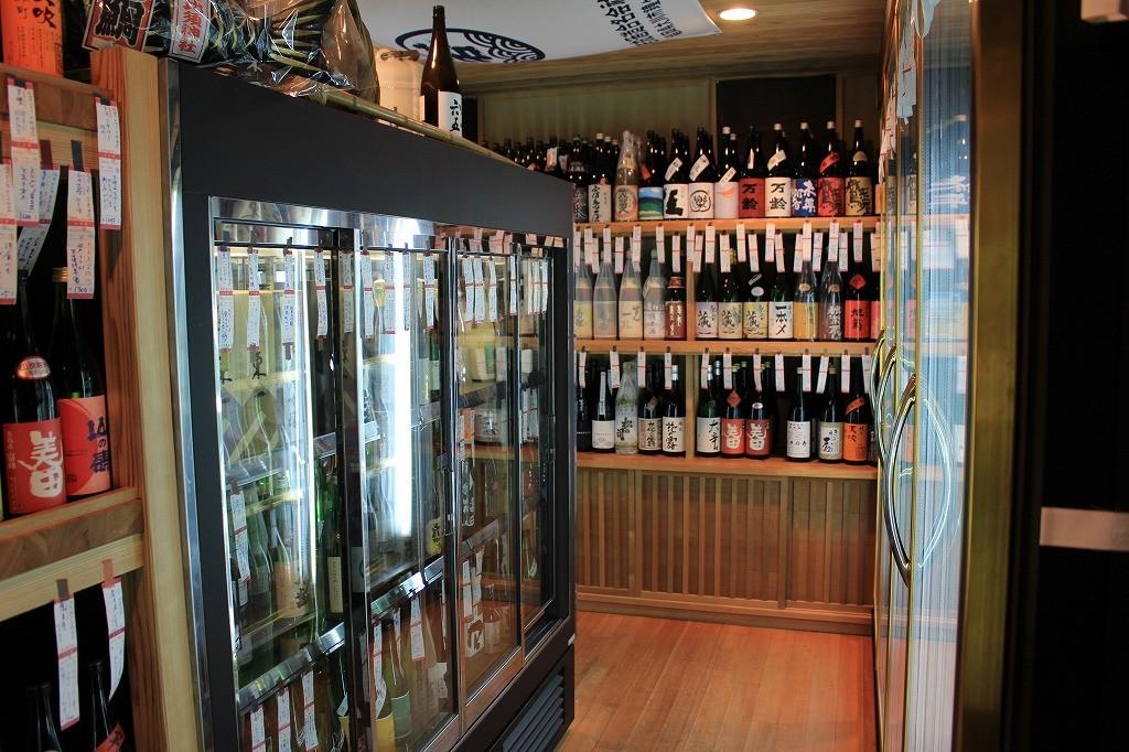 2Fの日本酒コーナー