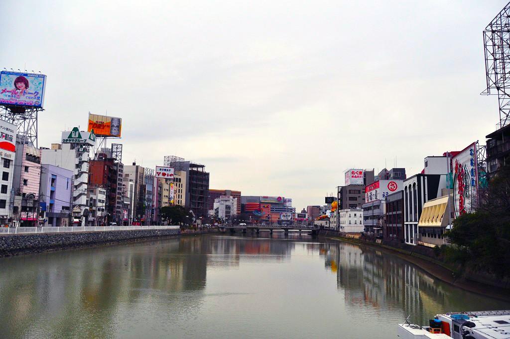 中洲川沿い