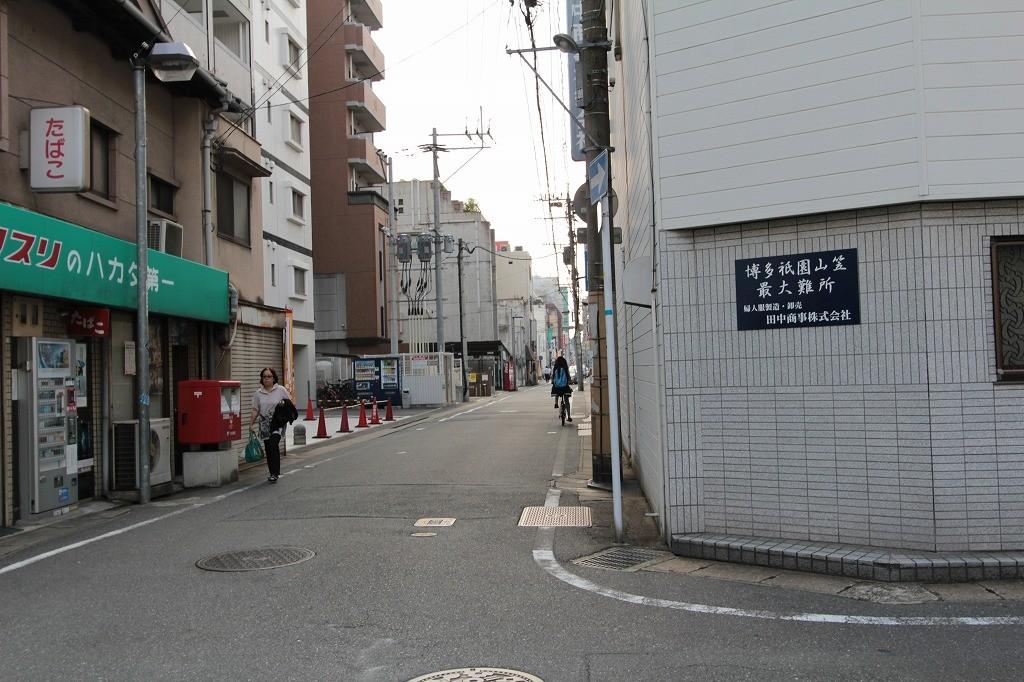 博多祇園山笠の最大難所