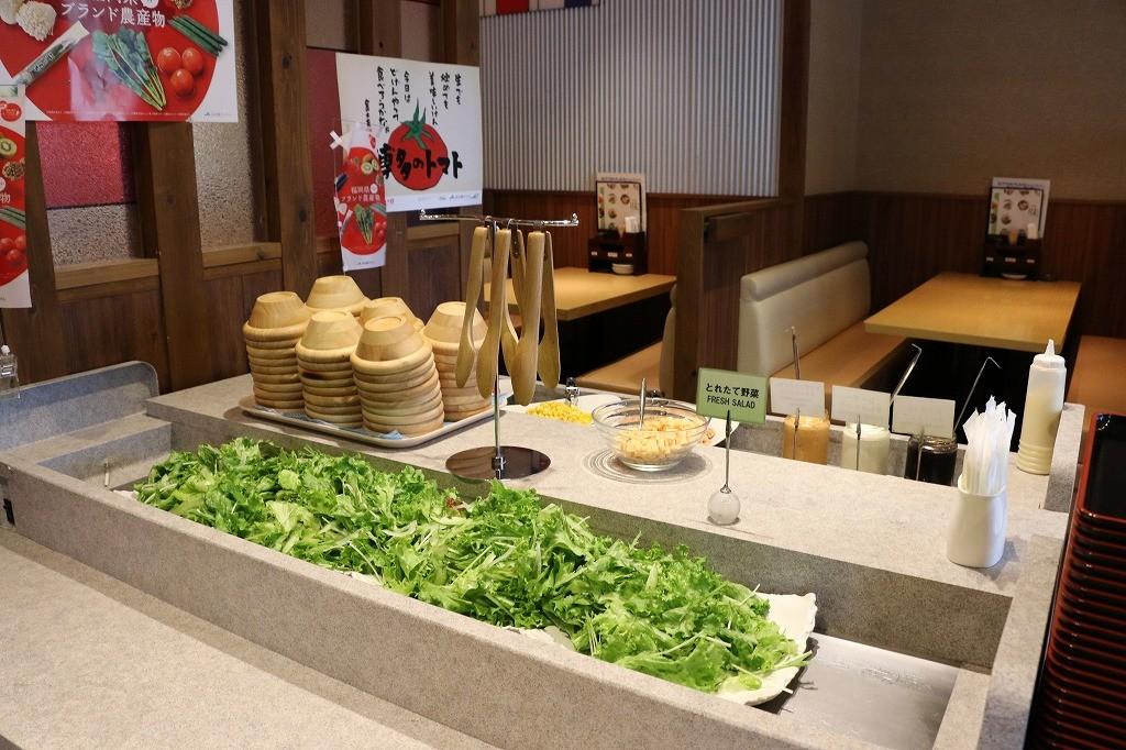 地元福岡産の新鮮なお野菜
