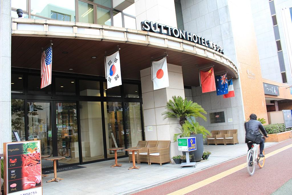 ホテル側の出入口