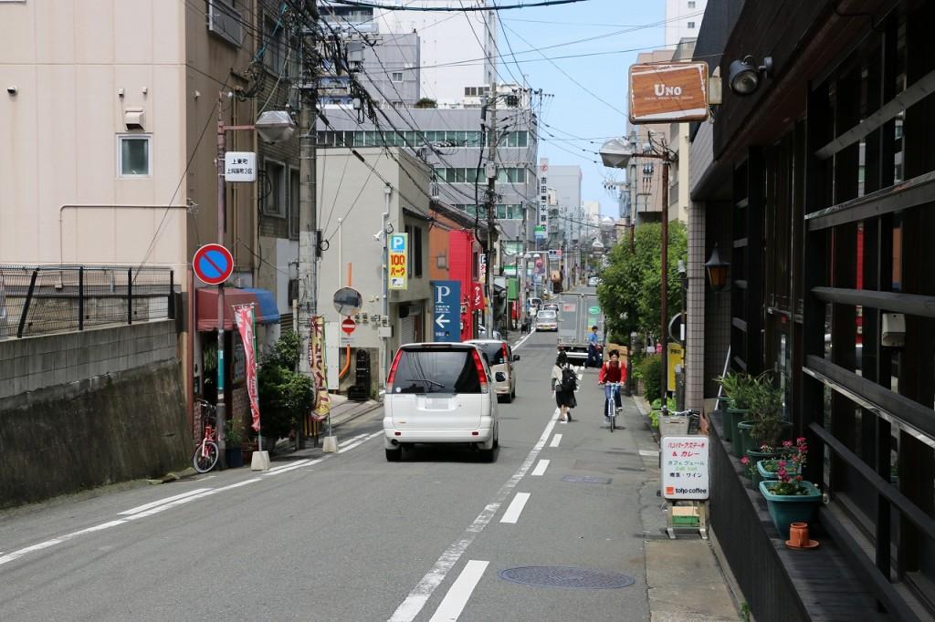 博多祇園山笠の追い山コース