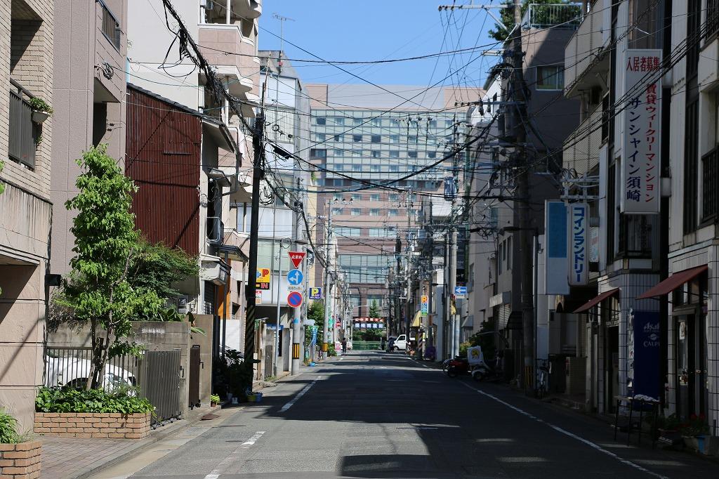 奈良屋の街の雰囲気