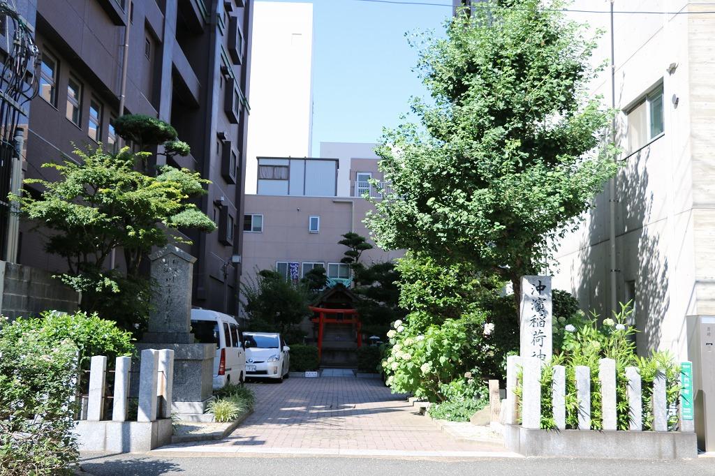 沖濱稲荷神社1