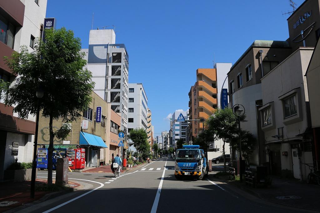 奈良屋の町並み