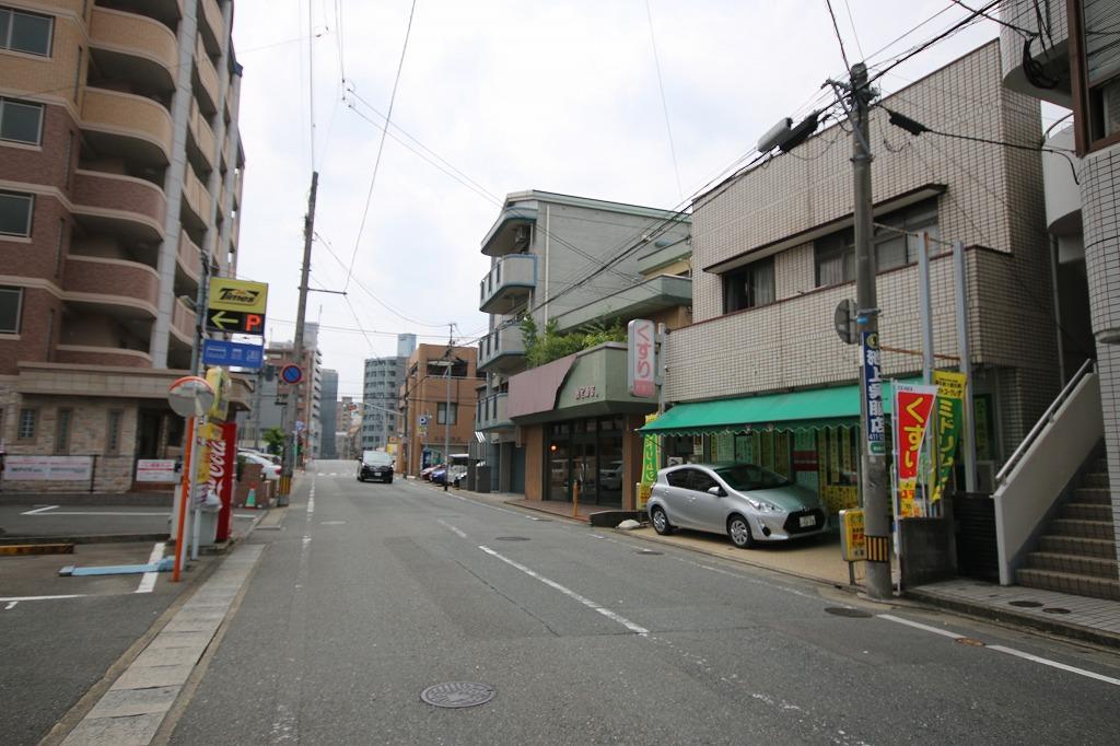 東比恵の商店街
